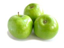 Blanc vert de pomme Image stock