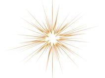 blanc violet d'étoile de fond Photos libres de droits