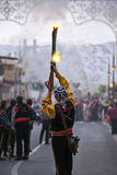 blanca肋前缘节日西班牙西班牙语 库存图片