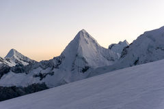 BLANCA οροσειρών Στοκ φωτογραφία με δικαίωμα ελεύθερης χρήσης