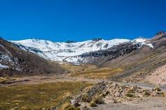 BLANCA περουβιανές Άνδεις Arequipa Περού οδικού Aguada Στοκ φωτογραφίες με δικαίωμα ελεύθερης χρήσης