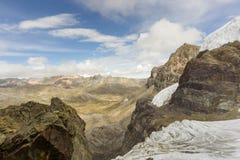 Blanca кордильер в Перу Стоковая Фотография RF