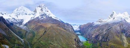 Blanca кордильер, Перу Стоковая Фотография