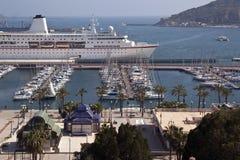 blanca costa Cartagena Spain Fotografia Royalty Free