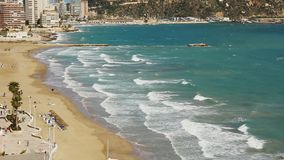 Blanca de côte, Espagne banque de vidéos