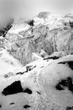 Blanca de Cordiliera avec la neige photographie stock libre de droits