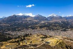 BLANCA de Cordiliera, Huaraz, Peru fotos de stock royalty free
