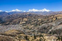 BLANCA de Cordiliera, Huaraz, Peru foto de stock royalty free