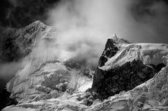 Blanca de Cordiliera - Le Pérou Photos libres de droits