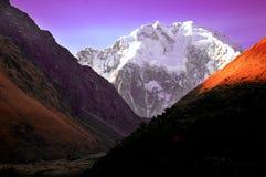 BLANCA de Cordiliera - Peru  Imagem de Stock