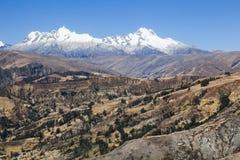 BLANCA de Cordiliera, Peru fotografia de stock royalty free