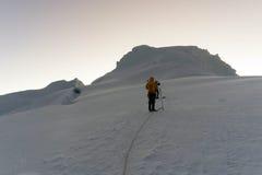 Blanca de Cordillera Imagen de archivo