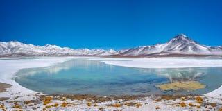BLANCA de Laguna, província de Lipez do Sul, Potosi Bolívia foto de stock