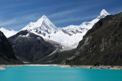Blanca de Perú, Cordillera Imágenes de archivo libres de regalías