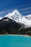 Blanca de Perú, Cordillera Fotografía de archivo libre de regalías