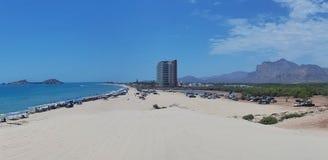 BLANCA de Playa Foto de Stock Royalty Free