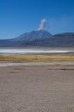Blanca de salines de Laguna image stock