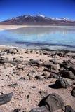 Blanca Laguna в Боливии Стоковое Изображение RF