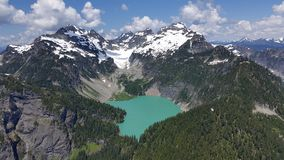Blanca Lake Royaltyfri Foto