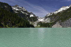 Blanca Lake, Washington, Etats-Unis Image stock