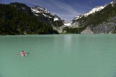 Blanca Lake, Washington, Etats-Unis photographie stock libre de droits