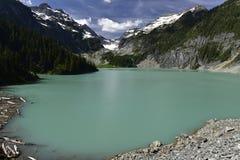 Blanca Lake, Washington, EUA fotos de stock