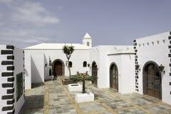 BLANCA Lanzarote Playa μαρινών Rubicon Στοκ φωτογραφία με δικαίωμα ελεύθερης χρήσης