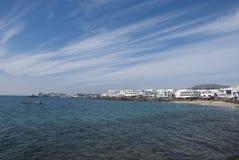 BLANCA Lanzarote Playa Στοκ φωτογραφία με δικαίωμα ελεύθερης χρήσης