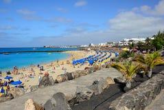 BLANCA Lanzarote Playa Στοκ Φωτογραφία
