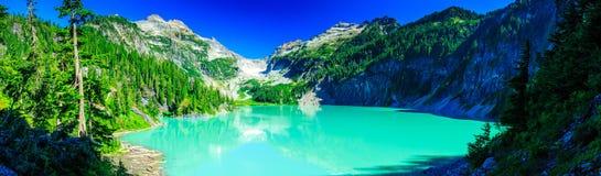 Blanca湖Pano 库存图片