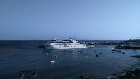 Blanca Playa пассажирского парома - Канарские острова Лансароте Стоковое Изображение