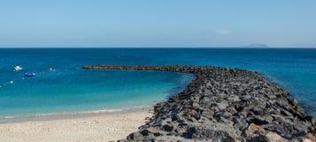 BLANCA Playa, Lanzarote Στοκ Φωτογραφίες