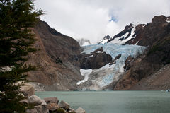 blancas glaciar piedras 库存照片