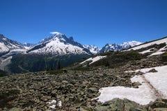 blancchamonix mont Royaltyfri Bild