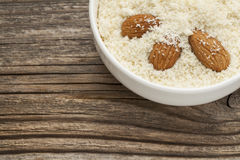 Blanched almond flour Royalty Free Stock Photography