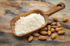 Blanched almond flour Royalty Free Stock Images