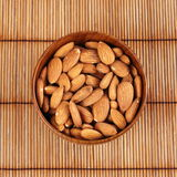 Blanched almonds Stock Images