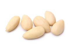 Blanched almonds Stock Photos