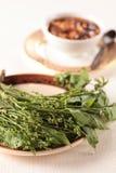 Blanched Nim leaf-4 Stock Images