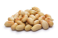 Blanched, roasted peanuts Royalty Free Stock Image