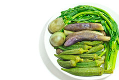 Blanched vegetables Stock Images