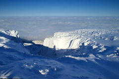 Blancheur en montagnes géantes/Karkonosze photographie stock libre de droits