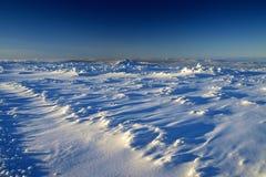 Blancheur en montagnes géantes/Karkonosze Photo stock