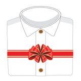 Blanching shirt in gift Stock Photos