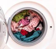 Blanchisserie avant le lavage photographie stock libre de droits