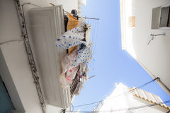 Blanchisserie d'Ibiza Photographie stock libre de droits