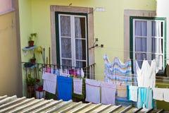 Blanchisserie d'un appartement de dessus de toit Image stock