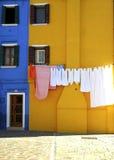 Blanchisserie dans Murano images stock