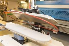 Blanchisserie de bateau de croisière Photo stock
