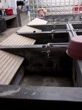 Blanchisserie de lavage communale dans le secteur d'Alfama de Lisbonne Portugal Photo stock